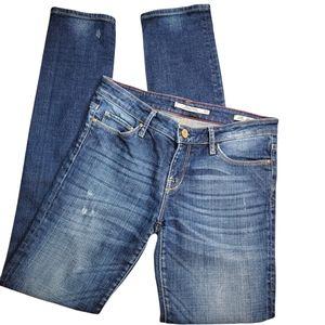 ZARA WOMAN Premium Slim Fit Medium Wash Jeans Sz 4